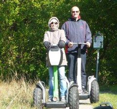Heike und Bernd auf Grenztour